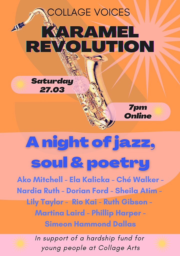 Karamel Revolution - A night of jazz, soul and poetry image