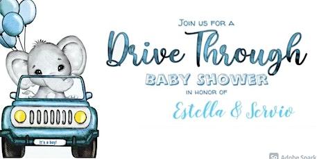 Estella and Servio's Drive-thru Baby Shower tickets
