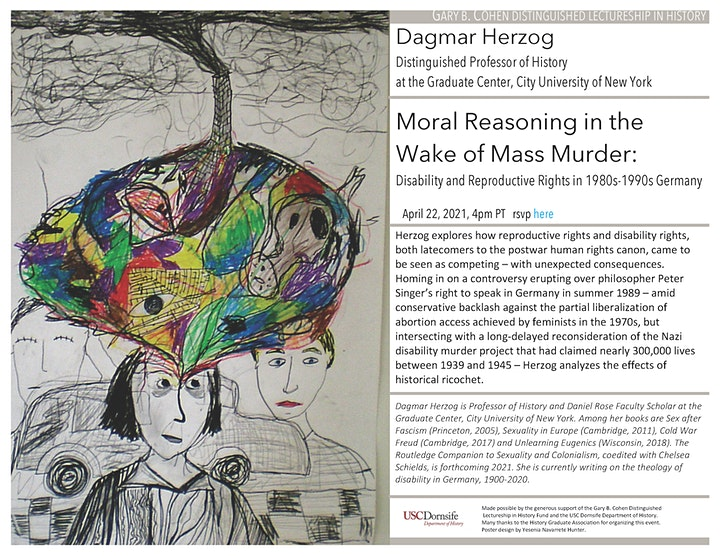 Moral Reasoning in the Wake of Mass Murder with Dagmar Herzog, CUNY image