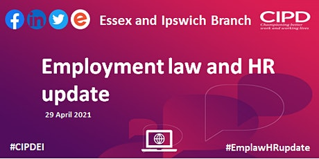 Employment Law and HR Update tickets