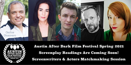 Austin After Dark Film Festival Spring 2021 Session D Screenplay readings tickets