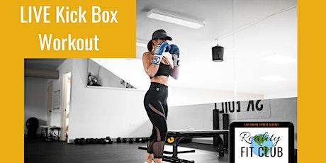 Fridays 10am PST LIVE Kick Box Cardio: Kick & Punch Cardio @Home Workout tickets