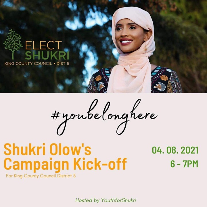 #Youbelonghere Shukri's Campaign Kick-Off image