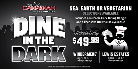 Dine in the Dark (Edmonton - Lewis Estates) tickets