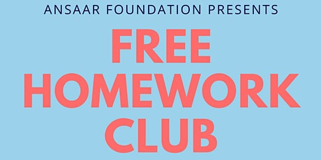 Free Homework Club tickets