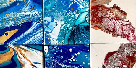 Creative Holidays | Our Oceans  - Acrylic pouring with Teresa Small tickets