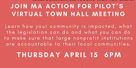 Mass. Action for PILOTs Town Hall tickets