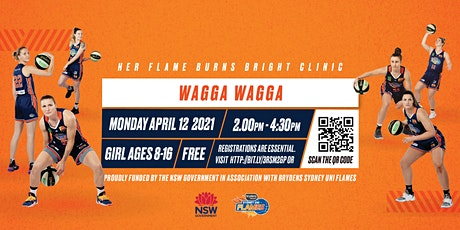 Sydney Flames Girls  Basketball Clinic - Wagga Wagga tickets