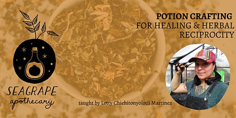 Potion Crafting for Healing & Herbal Reciprocity Tickets