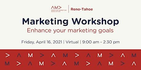 Marketing Workshop: Enhancing Your Marketing Goals tickets