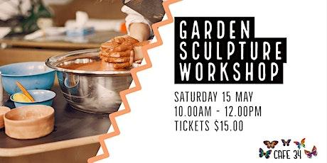Garden Sculpture | Cafe 34 tickets