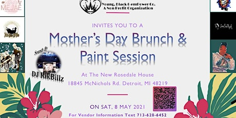 Mother's Day Brunch & Paint Session tickets