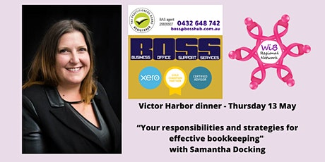 Victor Harbor dinner - Women in Business Regional Network -  Thur 13/5/2021 tickets