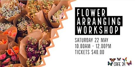 Flower Arranging | Cafe 34 tickets
