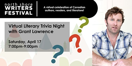 Virtual Literary Trivia Night with Host Grant Lawrence tickets