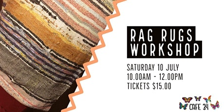 Rag Rug Workshop | Cafe 34 tickets