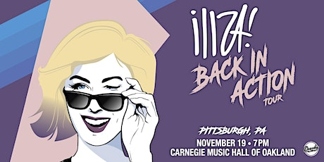 Iliza: Back In Action Tour tickets