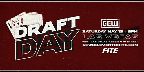 GCW presents Draft Day tickets