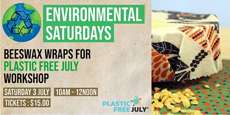 Beeswax wraps for Plastic Free July  |Environmental Saturdays |Cafe 34 tickets