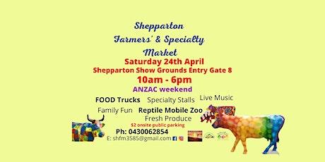Shepparton Farmers' & Specialty Market tickets