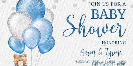 Aaron's Baby Shower tickets