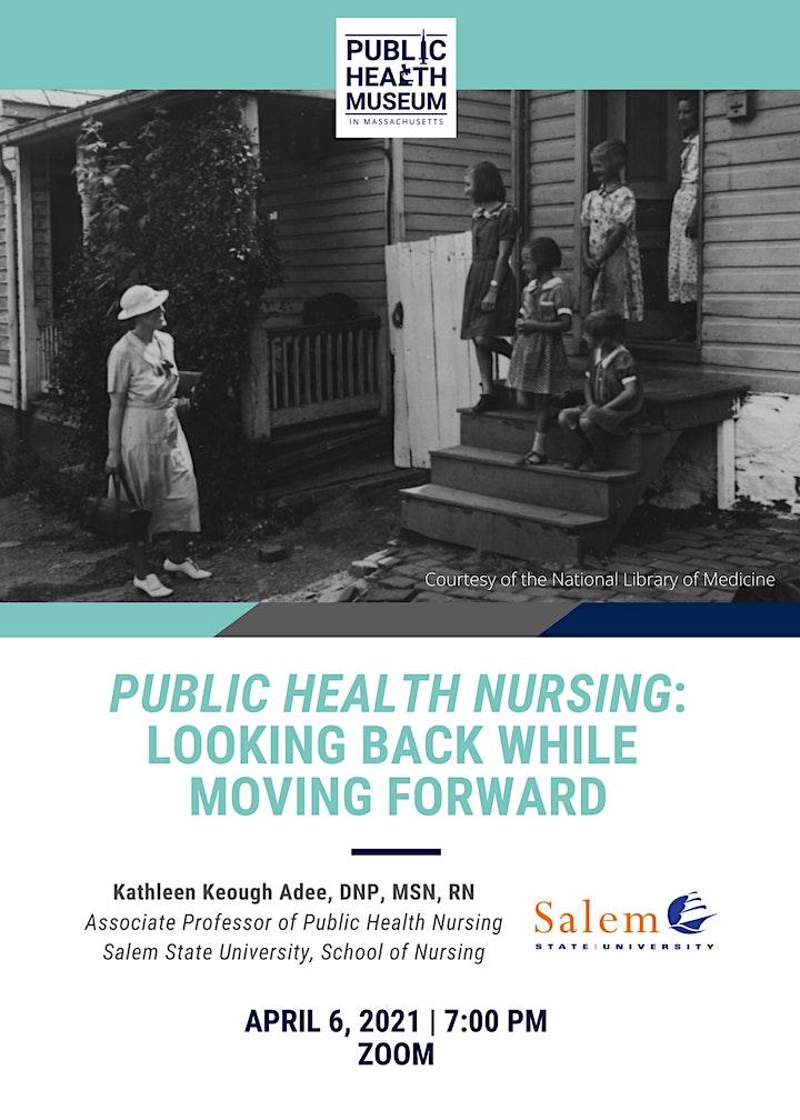 Public Health Nursing: Looking Back While Moving Forward image
