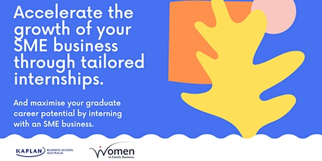 Accelerate the growth of your SME business through tailored internships tickets