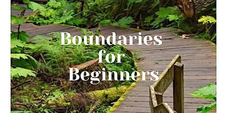 Boundaries for Beginners Series tickets