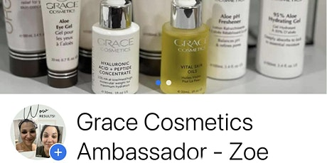 Grace Cosmetics by Zoe Lauch tickets