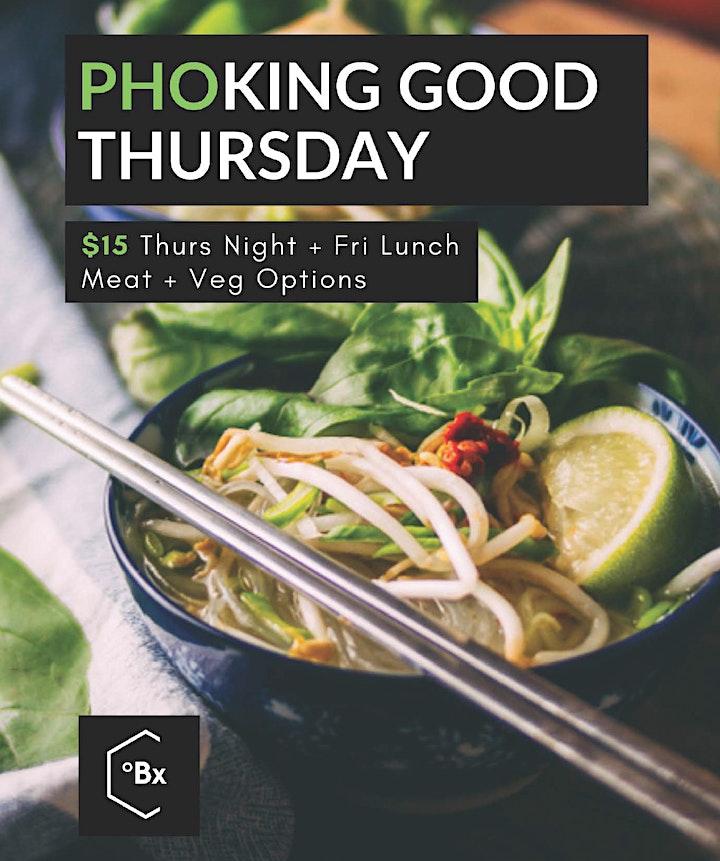Brix Bar and Dining. $15 Pho-King Good Thursday image