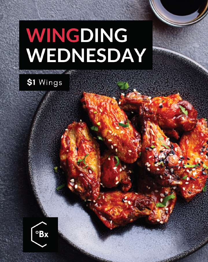 Brix Bar and Dining. $1 Wing Ding Wednesday image