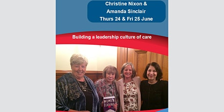 Building a leadership culture of care tickets
