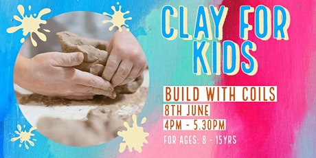 Build with Coils | Kids Clay tickets