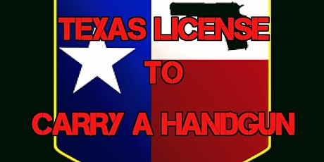 Texas DPS (LTC)  License to Carry a Handgun Class (Range Fee Included) $79 tickets