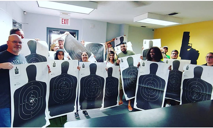 Texas DPS (LTC)  License to Carry a Handgun Class (Range Fee Included) $79 image