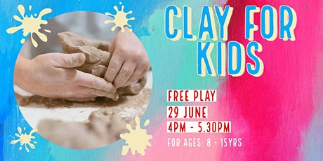 Free Play | Kids Clay tickets