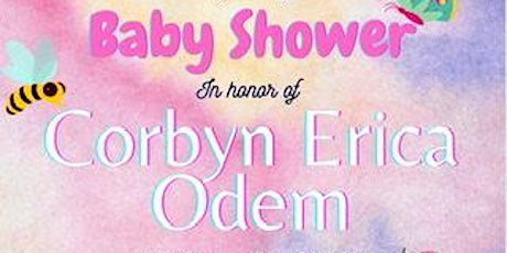 Baby Shower: Welcoming Corbyn tickets