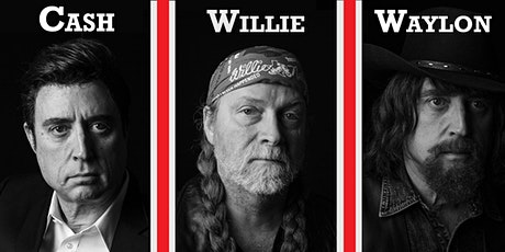 Johnny Cash, Willie Nelson, and Waylon Jennings Country Tribute tickets