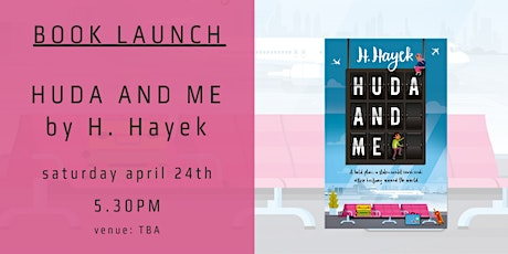 Book Launch - HUDA AND ME by H. Hayek tickets
