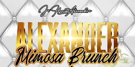 ALEXANDER Mimosa Brunch All White Edition tickets