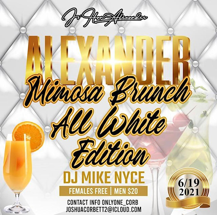 ALEXANDER Mimosa Brunch All White Edition image