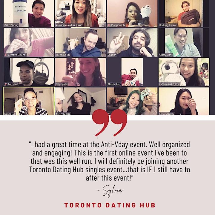 Toronto Dating Hub - July Happy Hour Virtual Chat image