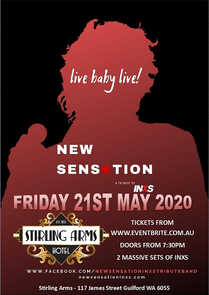 New Sensation Live at The Stirling Arms Guildford image