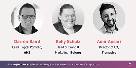 #TranspireTalks - Digital Accessibility and Inclusion Webinar tickets