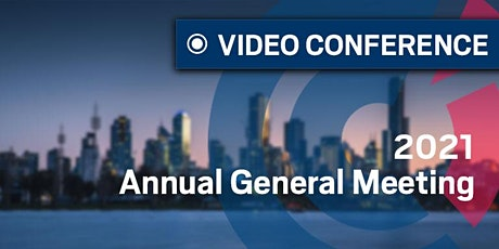 VIC | 2021 Annual General Meeting tickets