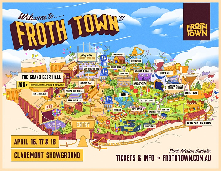 Froth Town 2021 image