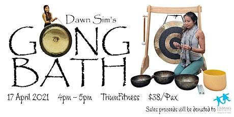 Gong Bath Class @ Trium Fitness (Fundraising Event) tickets