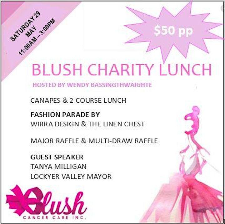 Blushin' Good Luncheon image