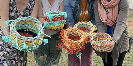 FREMANTLE marine debris basket weave workshop tickets