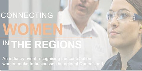 Connecting Women in The Regions - Victoria Park - 28th April tickets